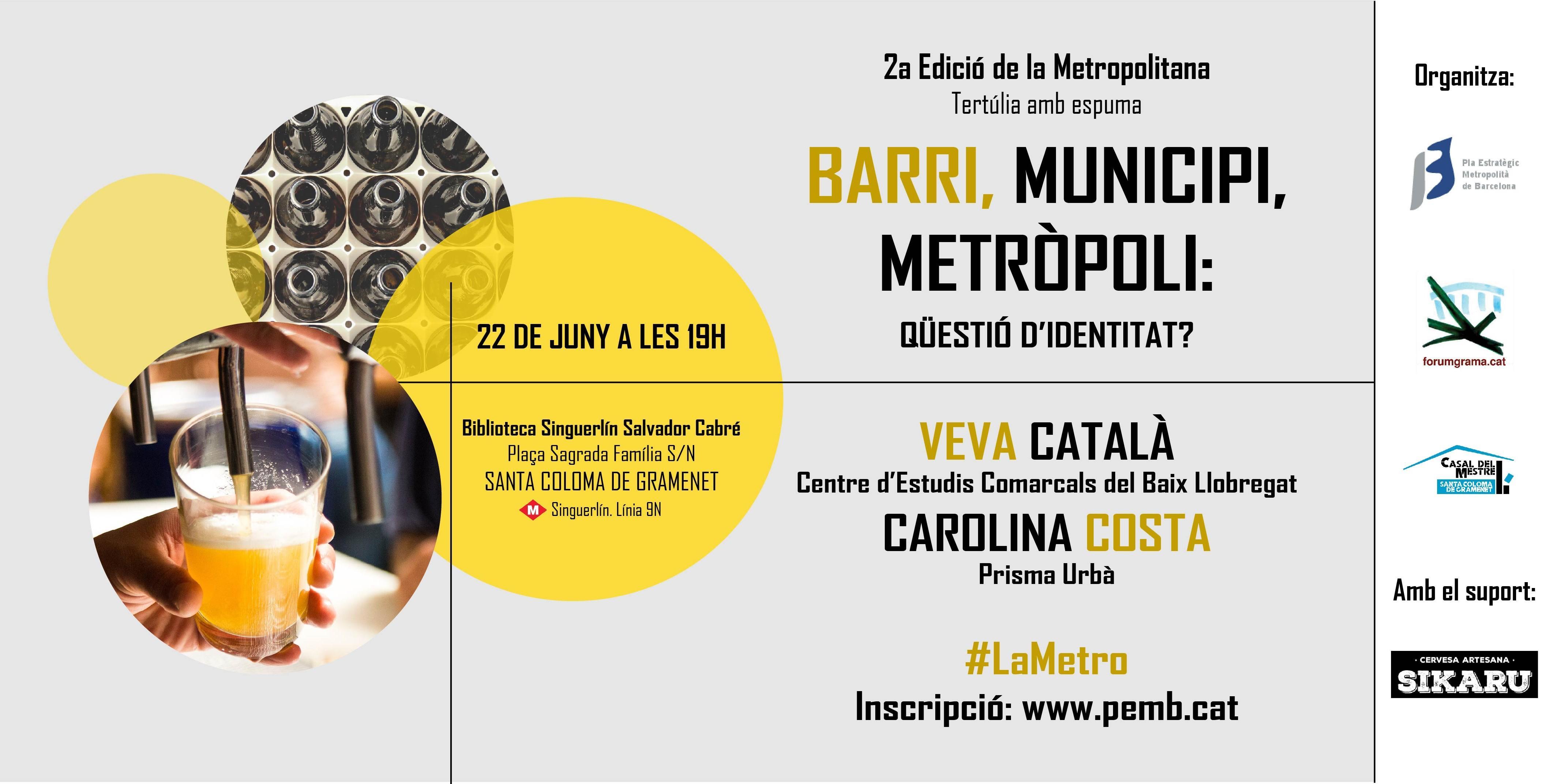 Barrio, municipio, metropolis: cuestión de identidad?