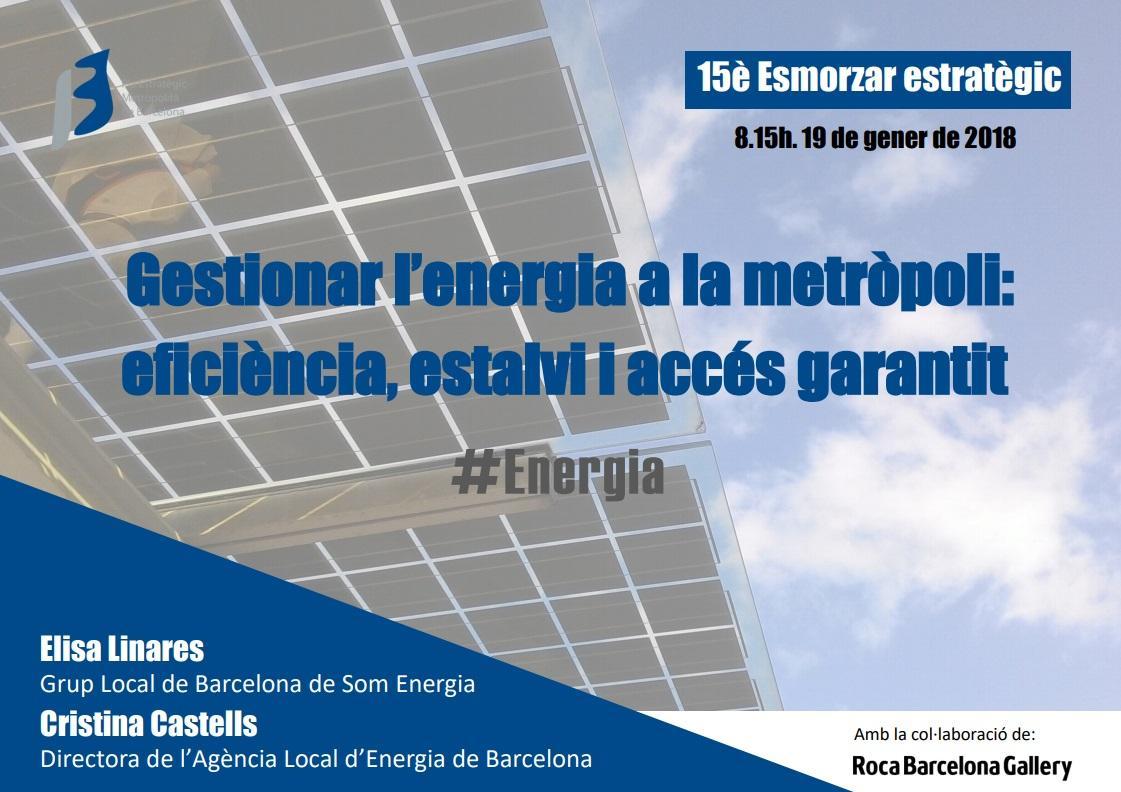 Gestionar la energía en la metrópoli