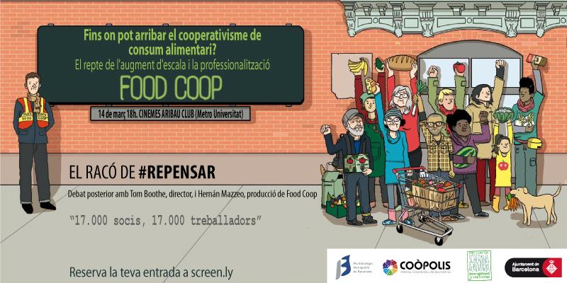 Rincón de repensar: cine-fórum sobre Food Coop
