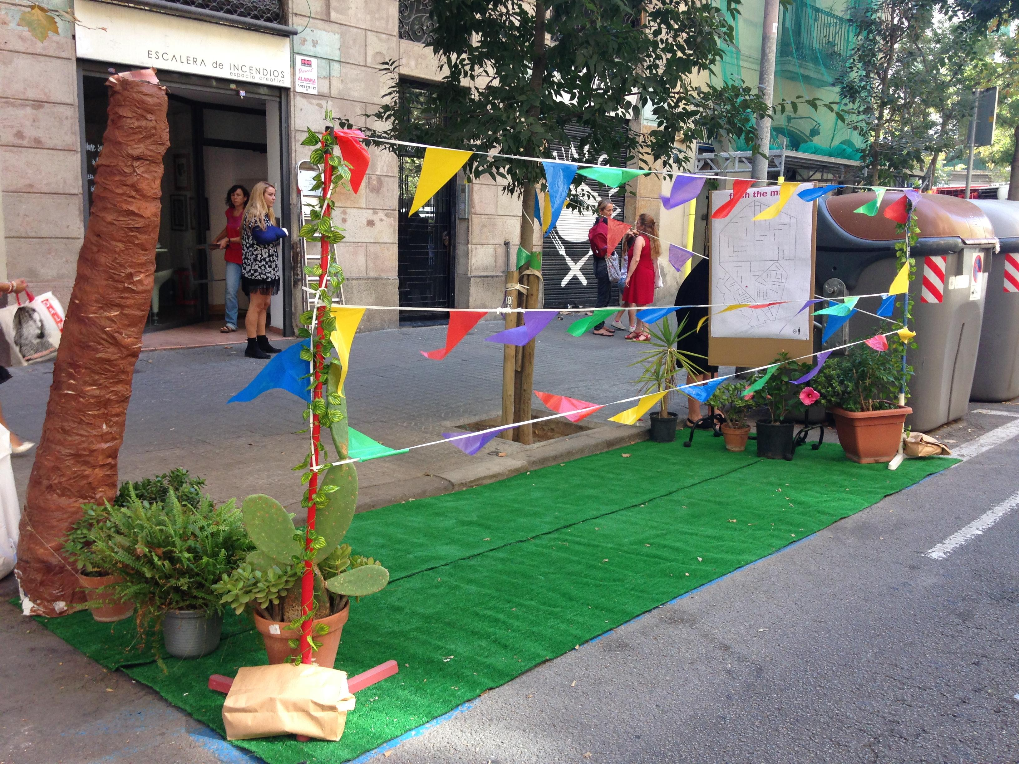 Park(ing) day Barcelona
