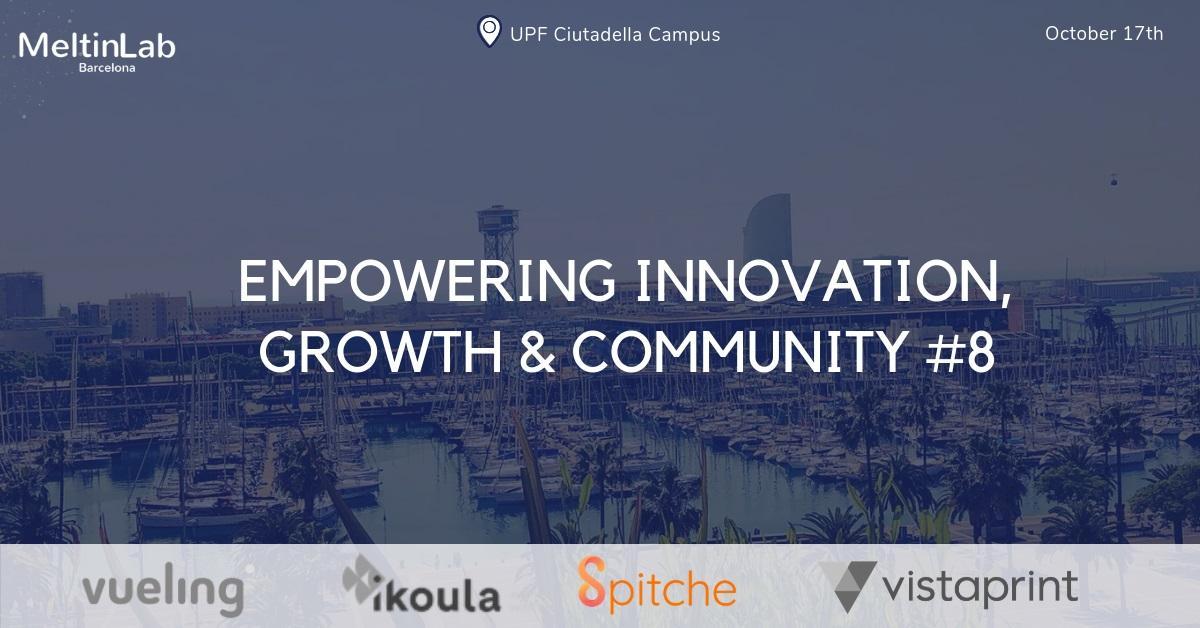 Empowering innovation, growth & community #8