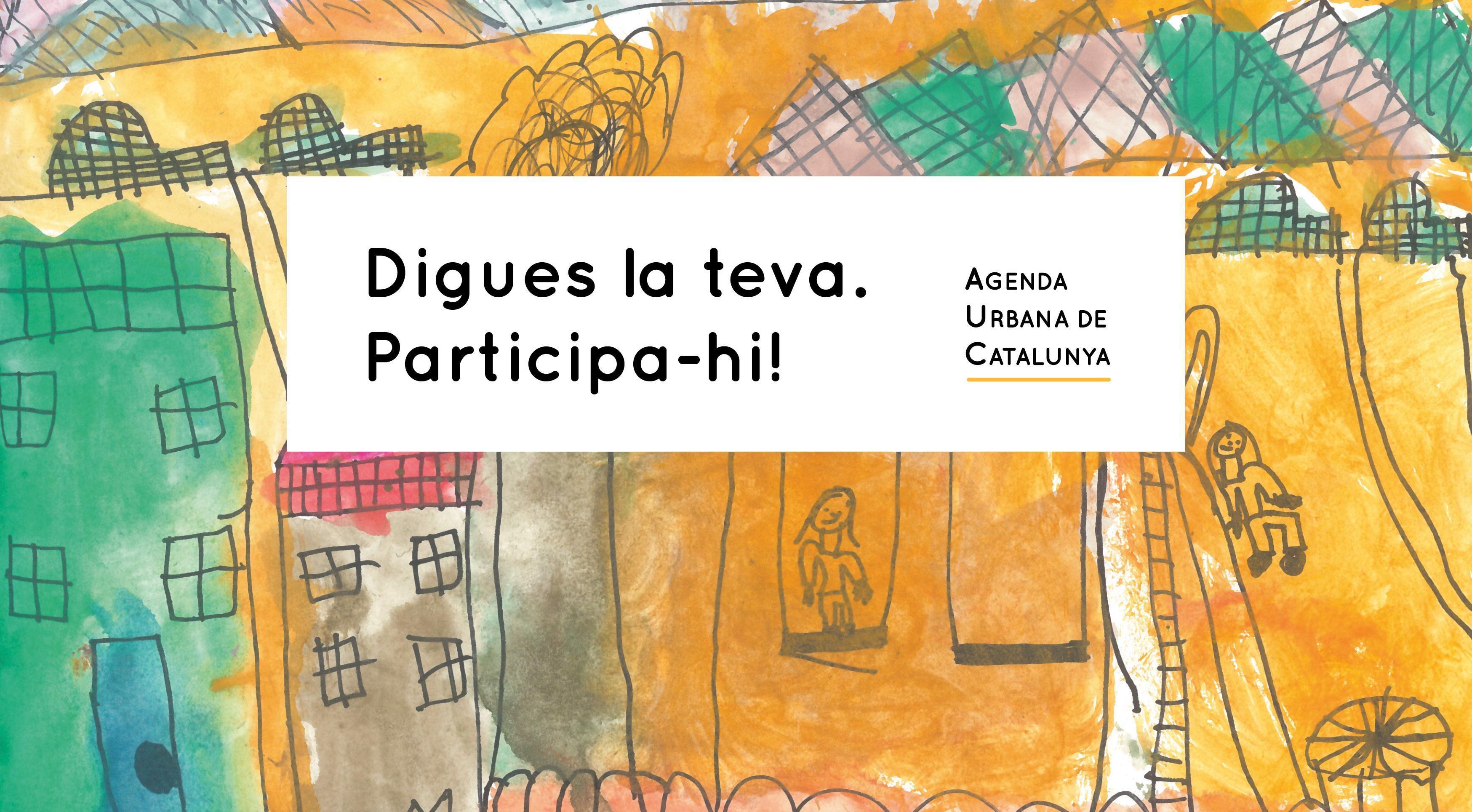 Imatge del procés participatiu de l'Agenda Urbana de Catalunya