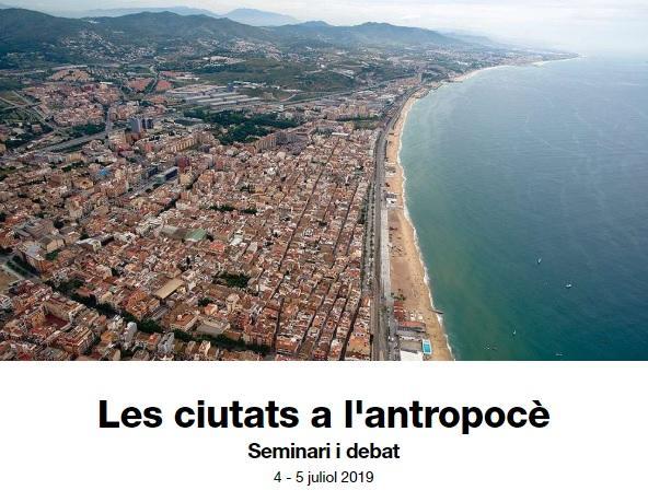 Les ciutats a l'antropocè