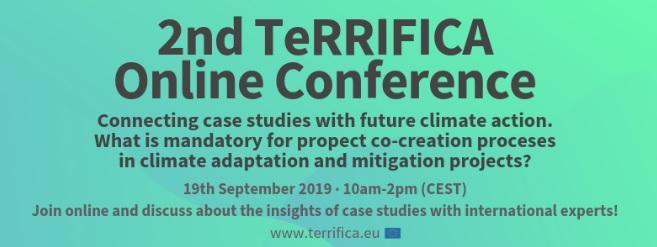 2ª Conferència online de TeRRIFICA