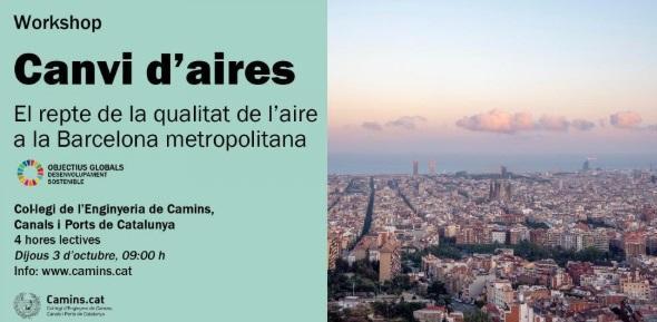 Canvi d?aires. El repte de la qualitat de l?aire a la Barcelona metropolitana