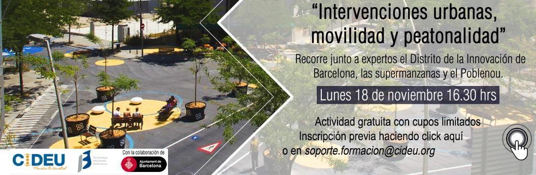 ?Intervencions urbanes, mobilitat i accessibilitat a peu?