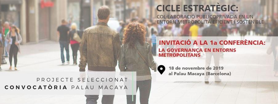 Jornada 'La Gobernanza en entornos metropolitanos'