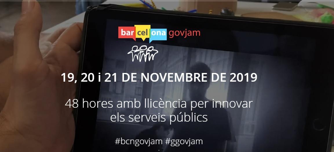 Anunci Barcelona Gov Jam