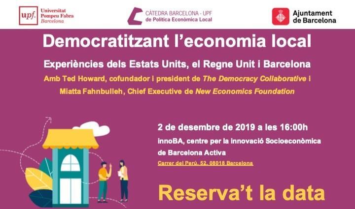 Democratitzant l?economia local: Experiències dels Estats Units, el Regne Unit i Barcelona