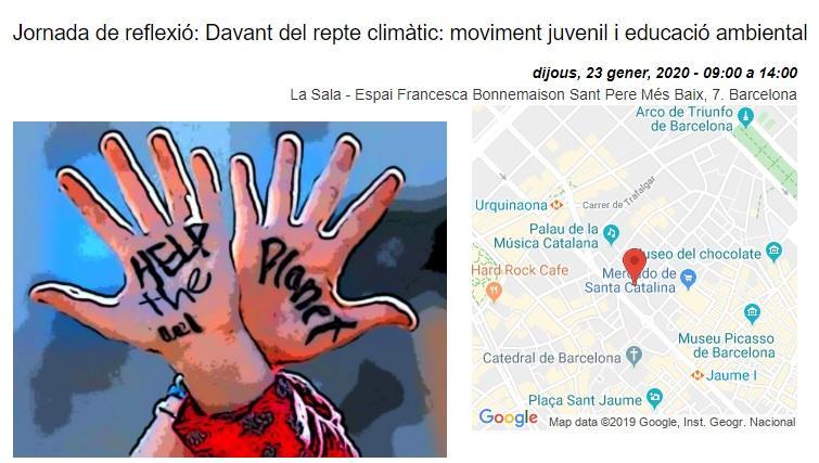 Frente al reto climático: movimiento juvenil y educación ambiental