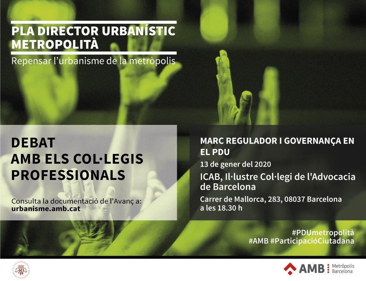 El marc regulador i la governança en el PDU, a debat