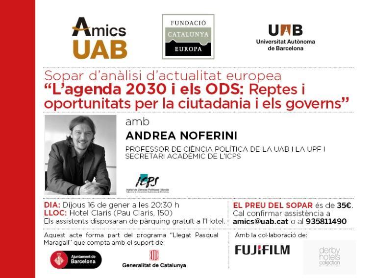 L?agenda 2030 i els ODS: Reptes i oportunitats per la ciutadania i els governs
