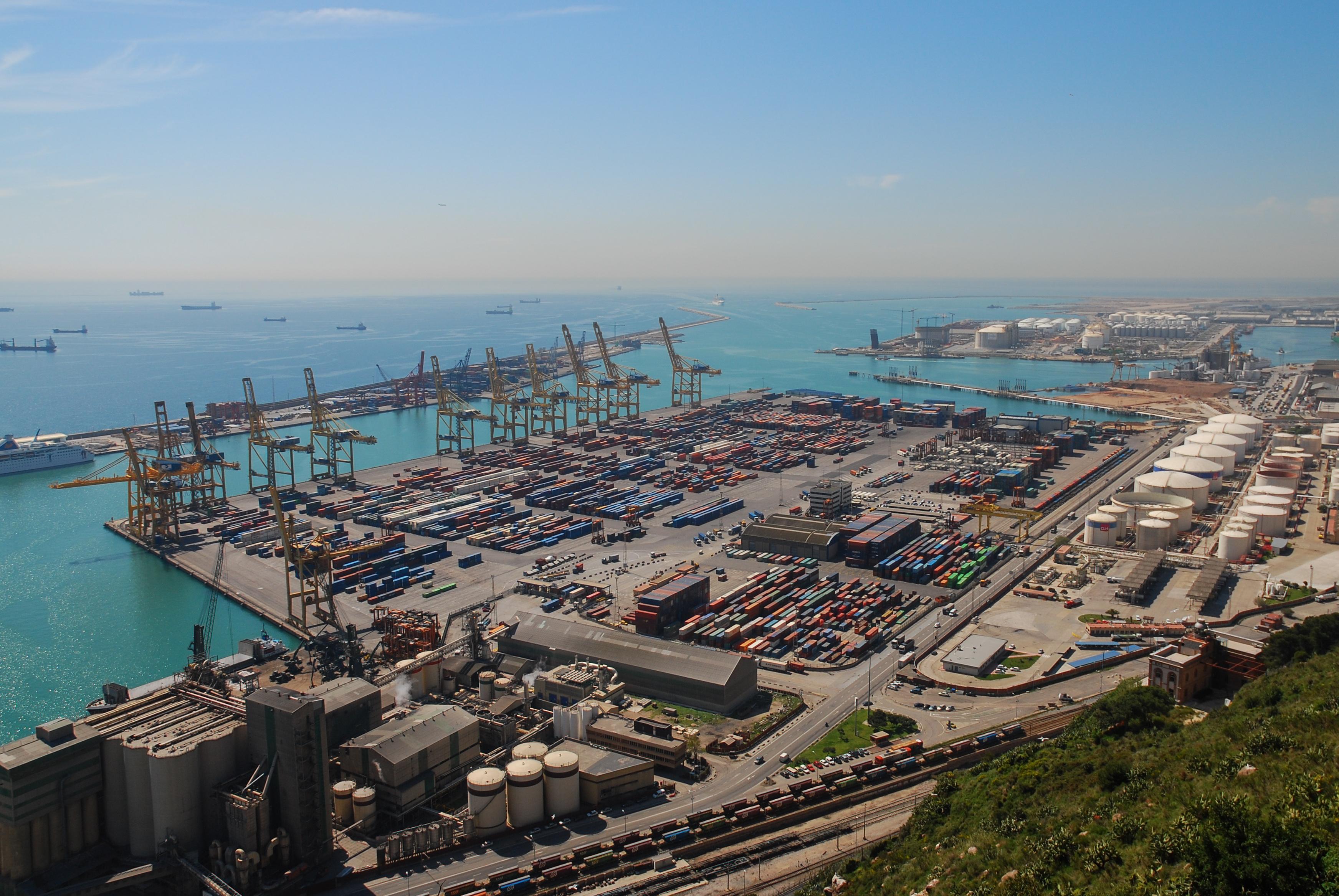 Imatge d'arxiu del Port de Barcelona