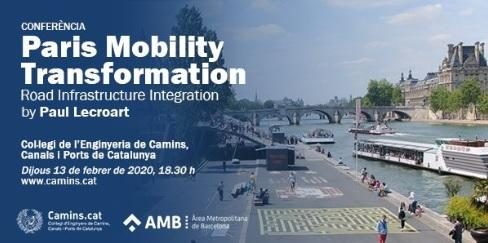 Paris mobility transformation. Road infraestructure Integration
