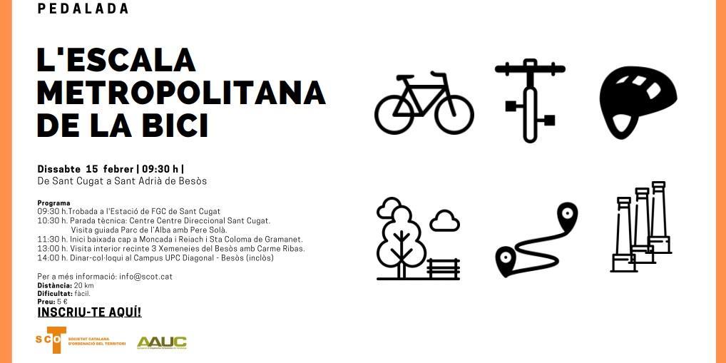 La escala metropolitana de la bici