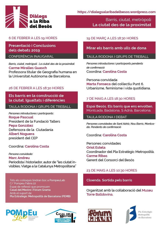 Programa Diàlegs a la Riba del Besòs