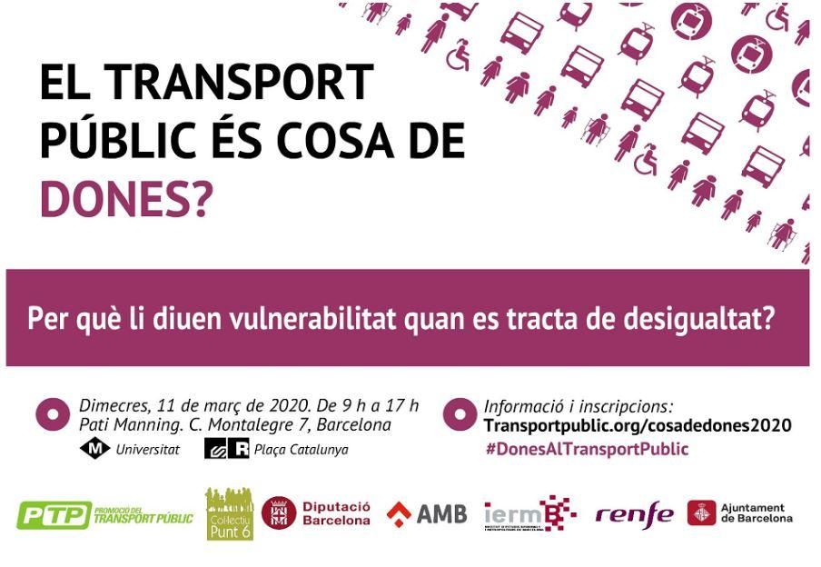 'El transport públic és cosa de dones?'