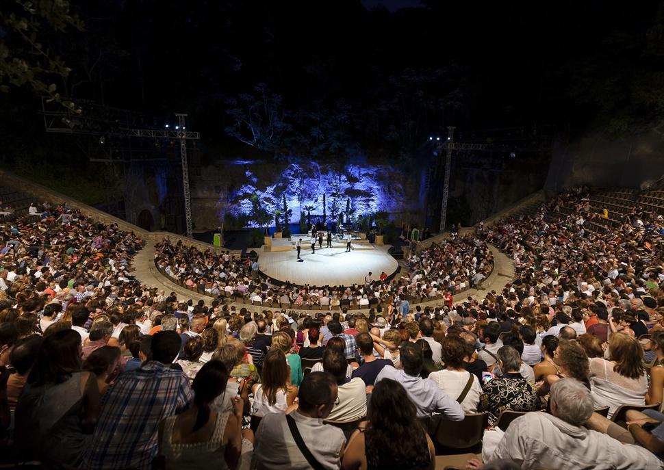Imatge de recurs de la inauguració del Teatre Grec