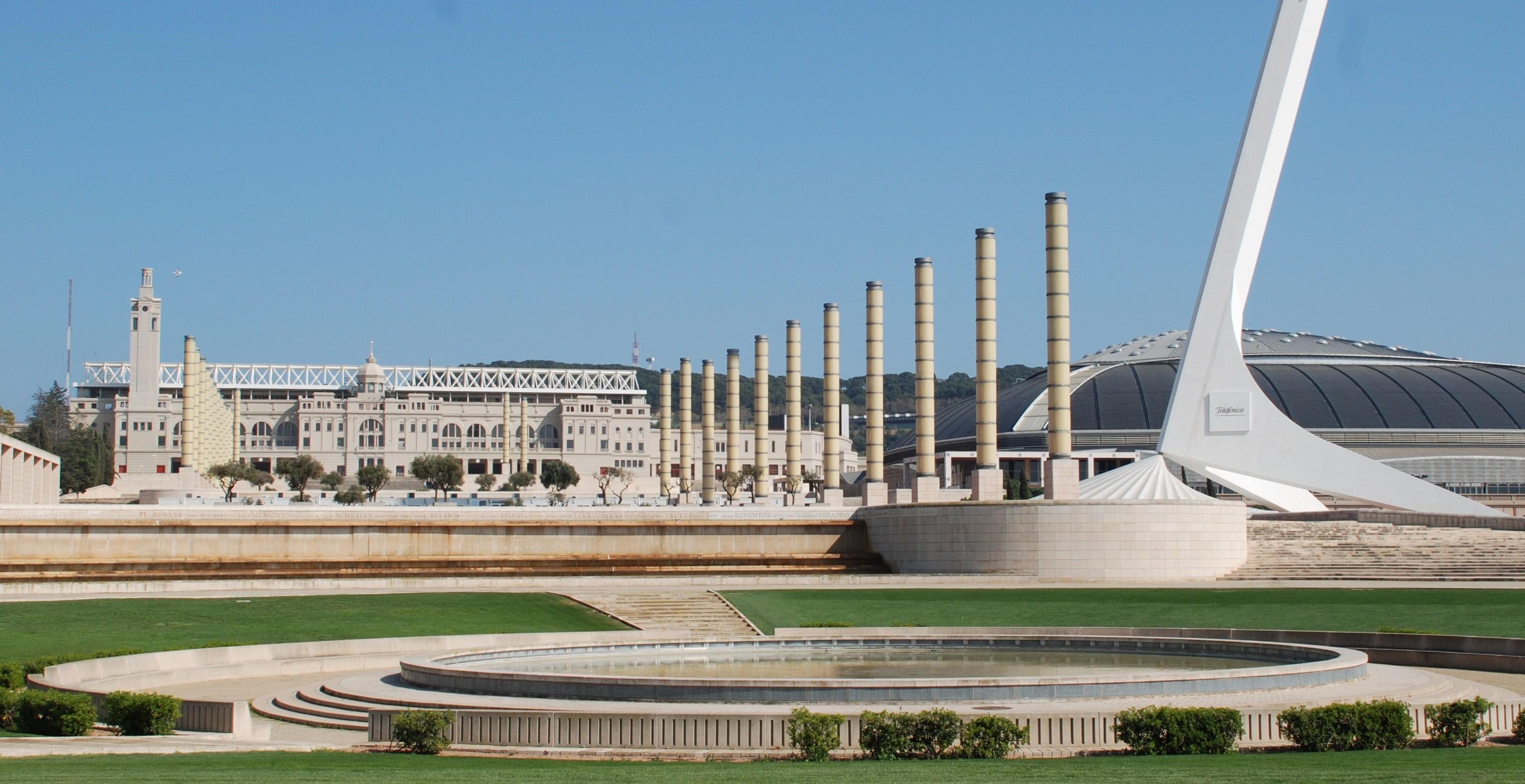 Zona Olímpica Montjuic
