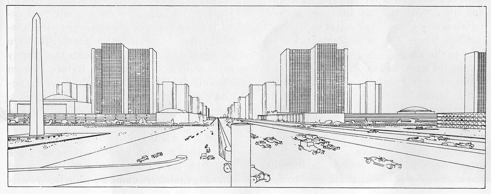 Ville Contemporanie. Le Corbusier