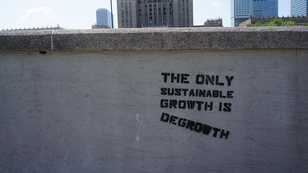 El único crecimiento sostenible es el decrecimiento