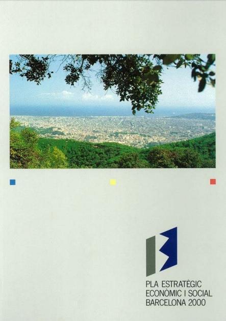Portada del I Plan Estratégico económico y social Barcelona 2000