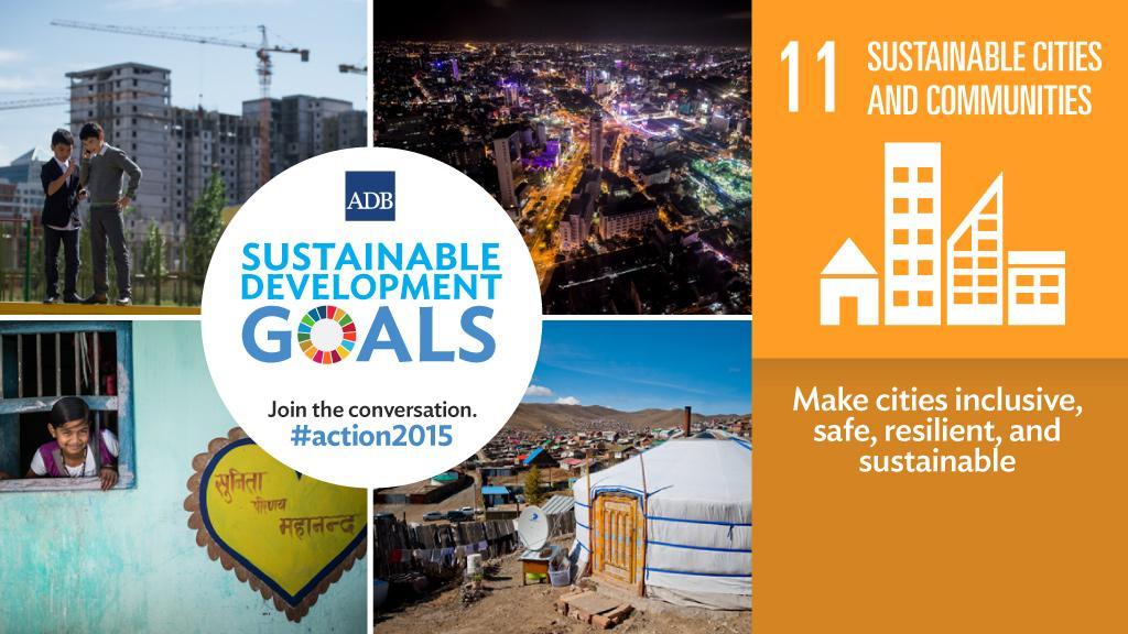 ODS 11: ciutats i comunitats sostenibles. Atribució: Asian Development Bank