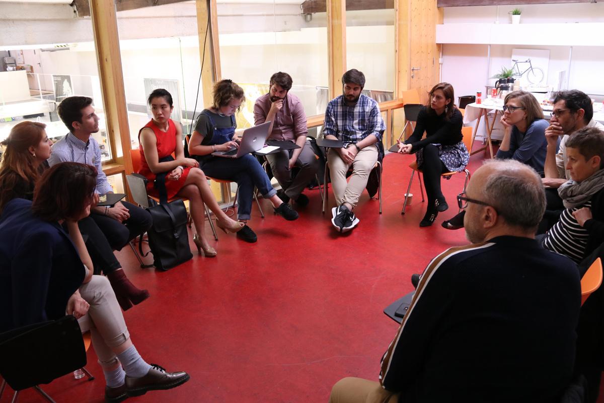 Imatge del debat organitzat pel PEMB sobre nòmades digitals