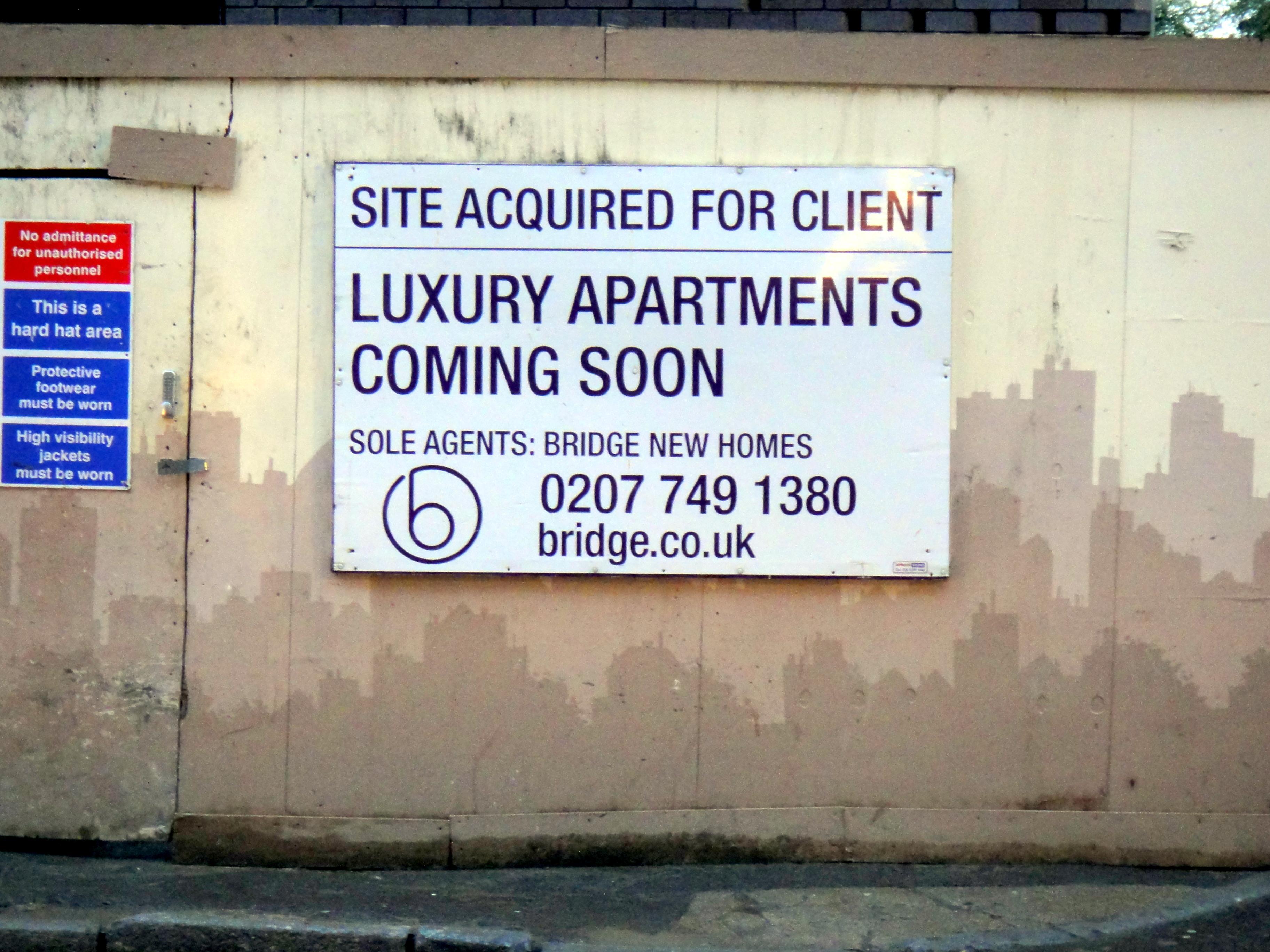 Imatge de recurs sobre la gentrificació a Islington