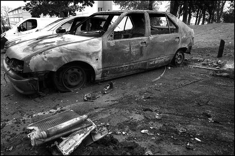 Disturbios en París año 2005