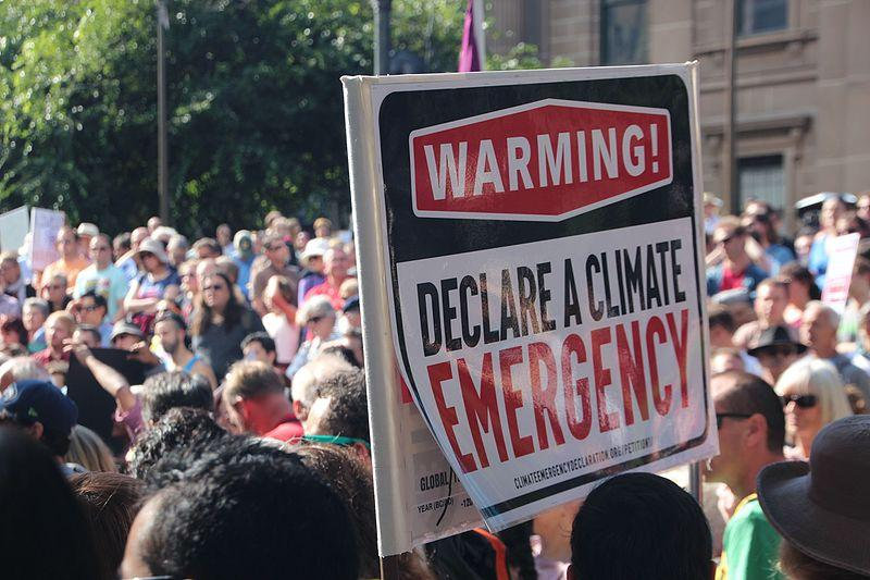 Declare a climate emergency - Melbourne. Wikicommons