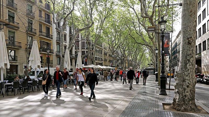Las Ramblas. Barcelona