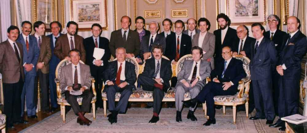 Aprobación del 1r plan estratégico (1990)