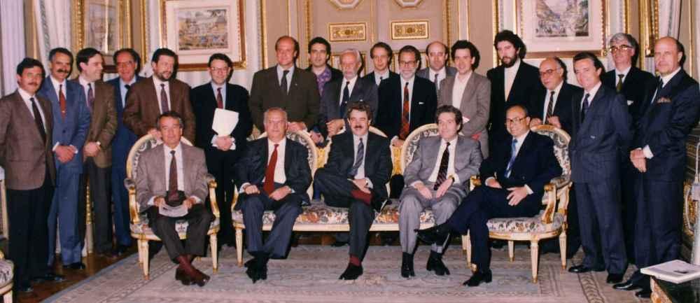 Aprovació del 1r pla estratègic - 1990