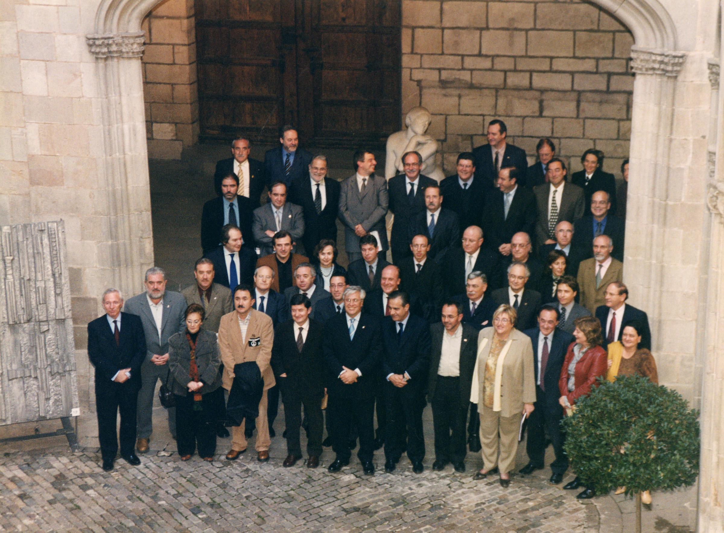 Signatura 1r pla estratègic metropolità - 2003
