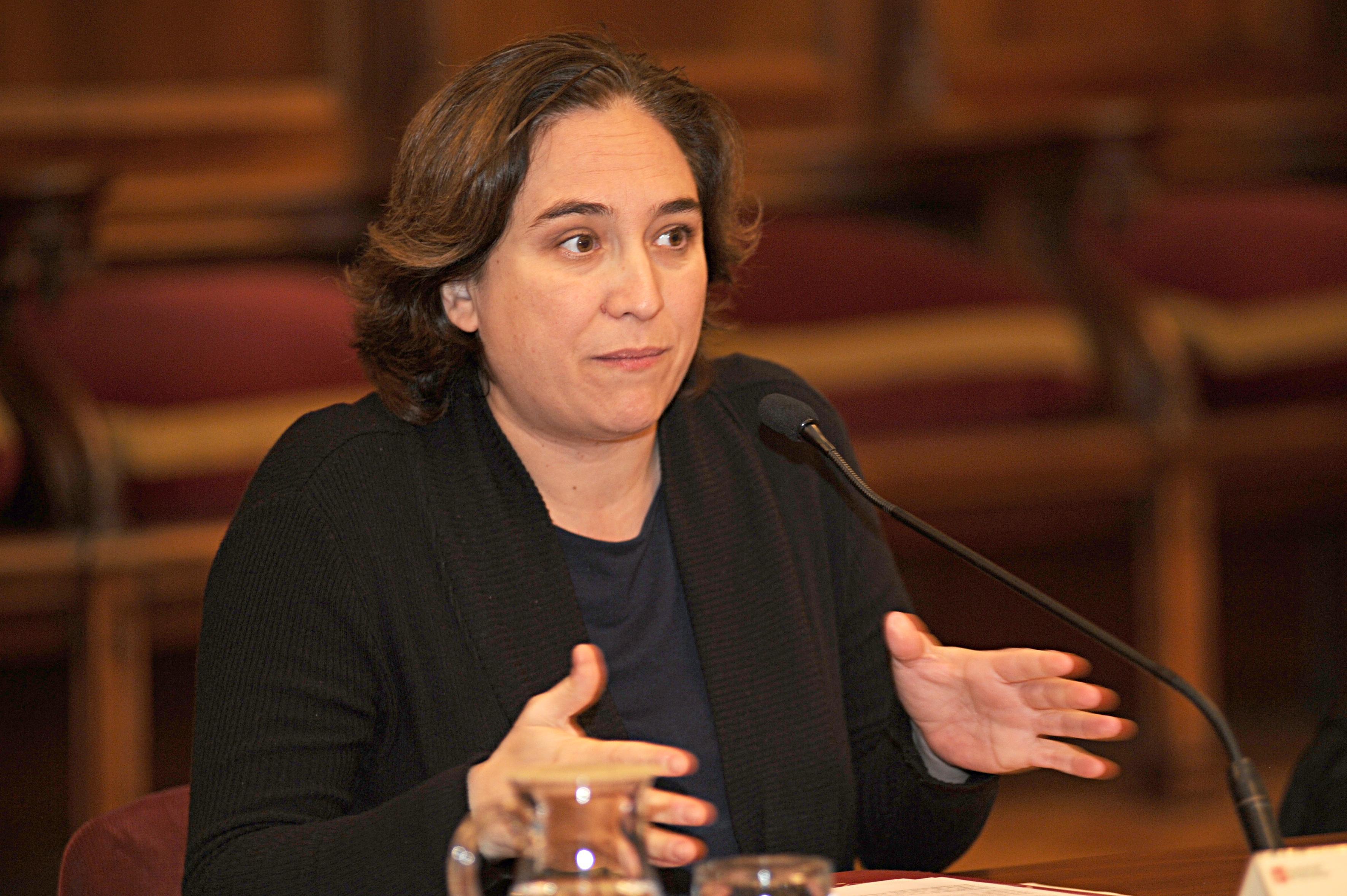Presidenta del Consell General del PEMB, Ada Colau
