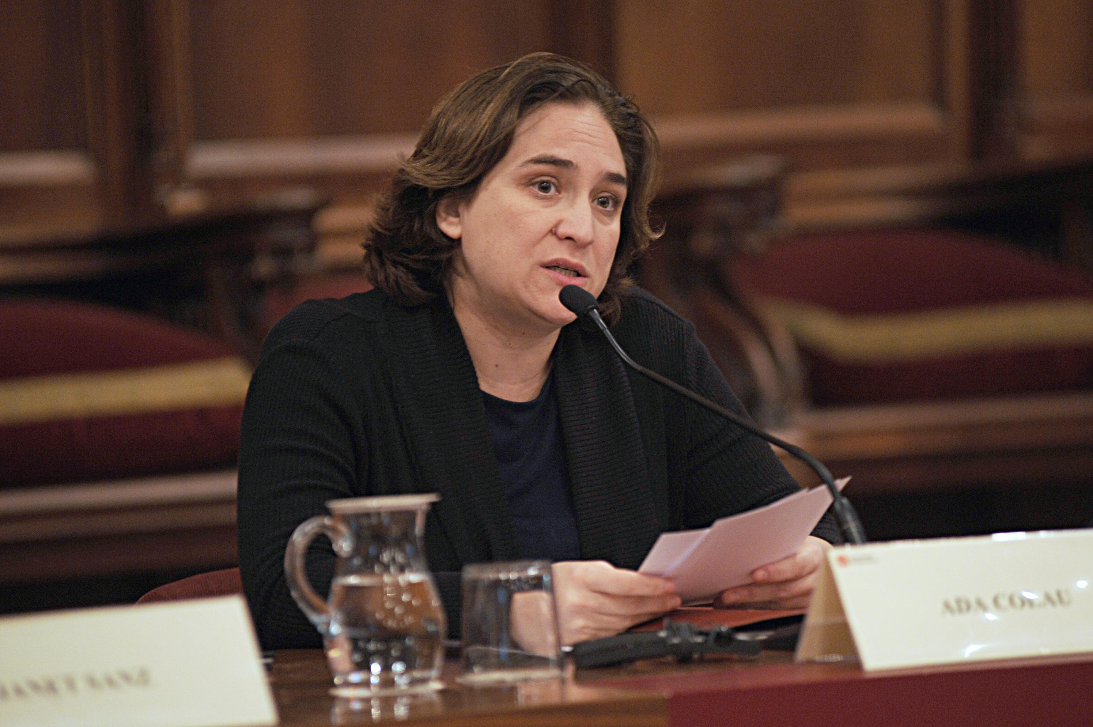 Presidenta del Consejo General del PEMB, Ada Colau