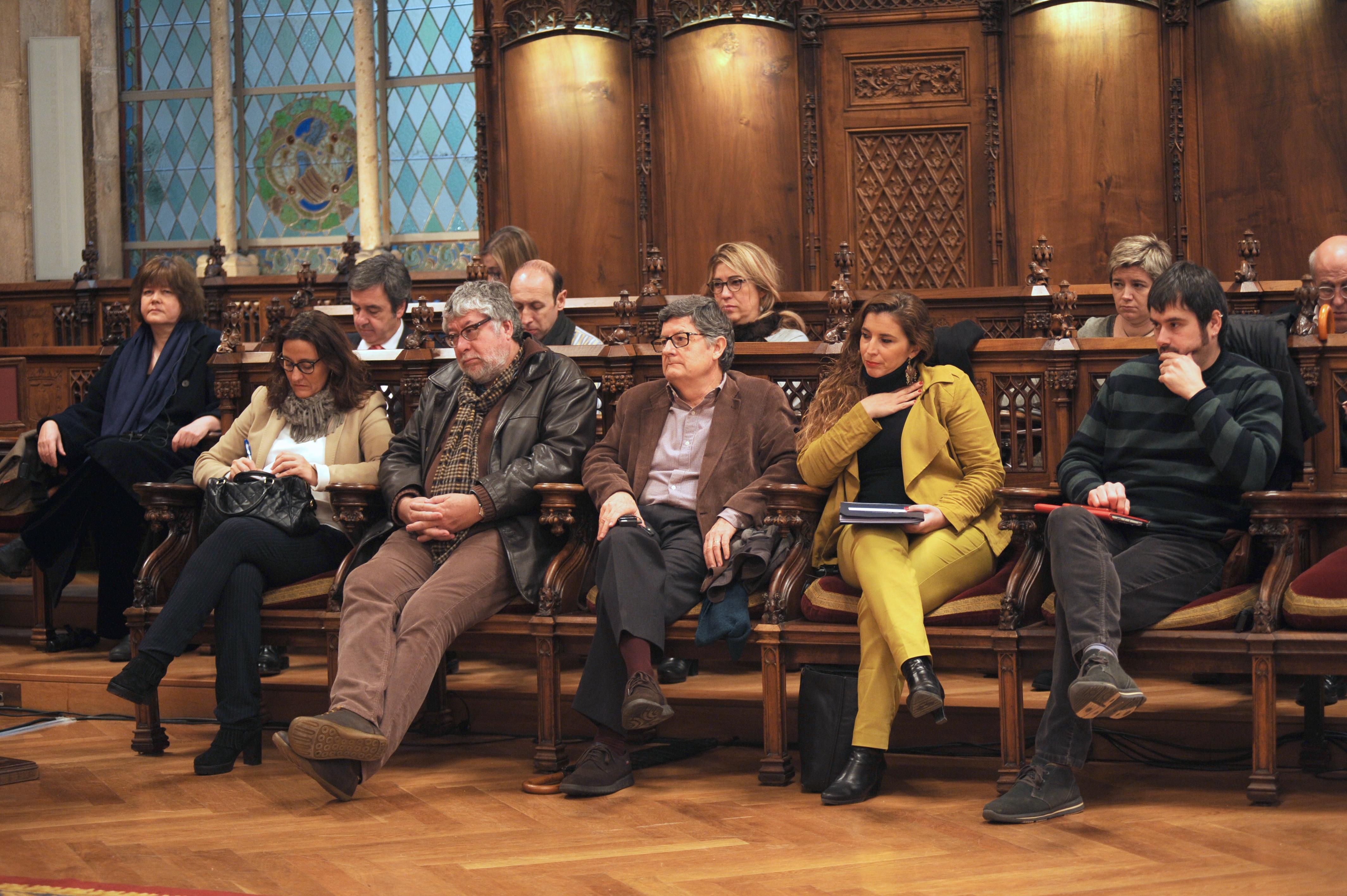 Escons laterals amb membres del Consell Rector i Comissió Executiva del PEMB