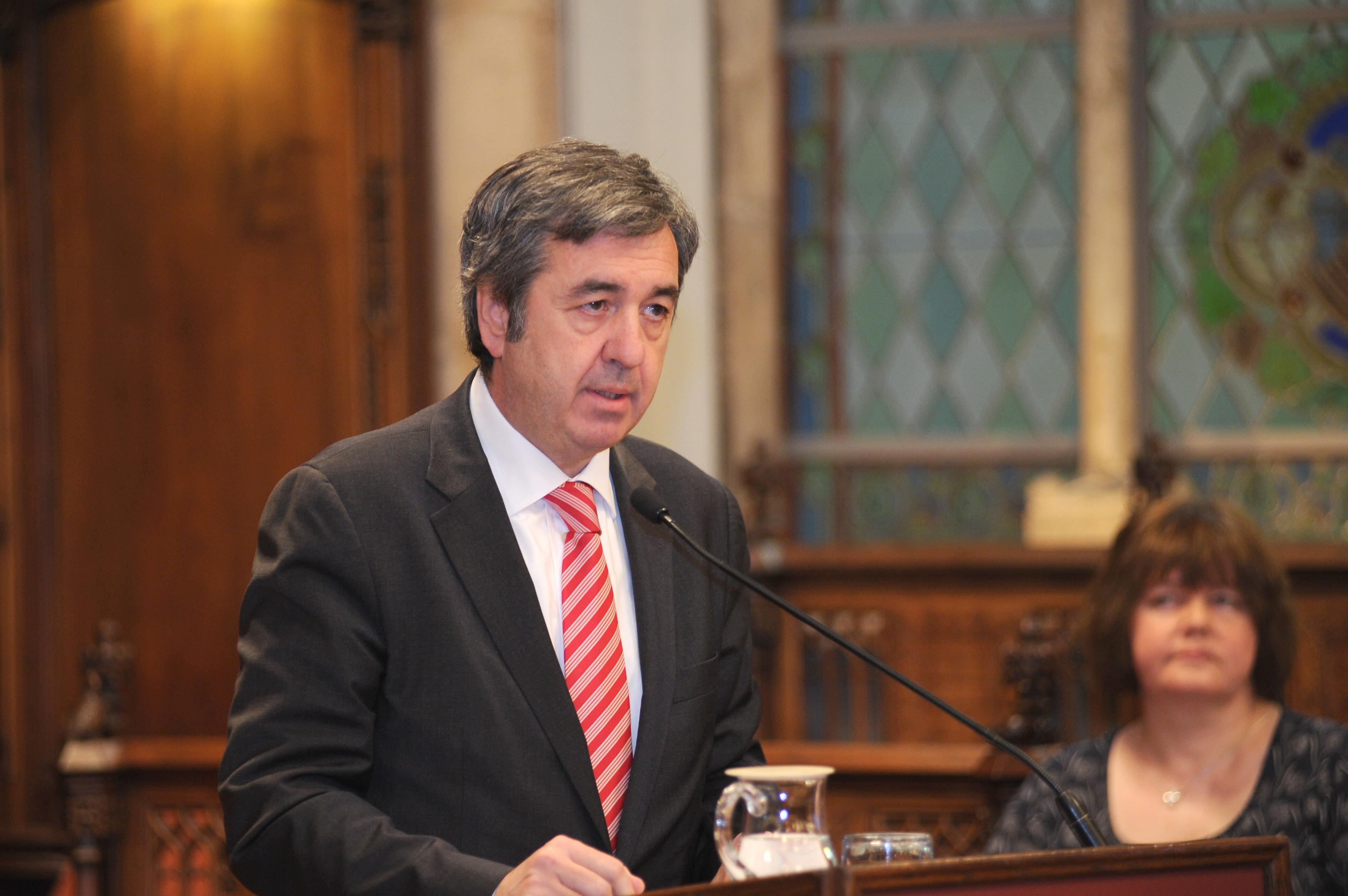 Ignasi Toda, secretario de la Asociación