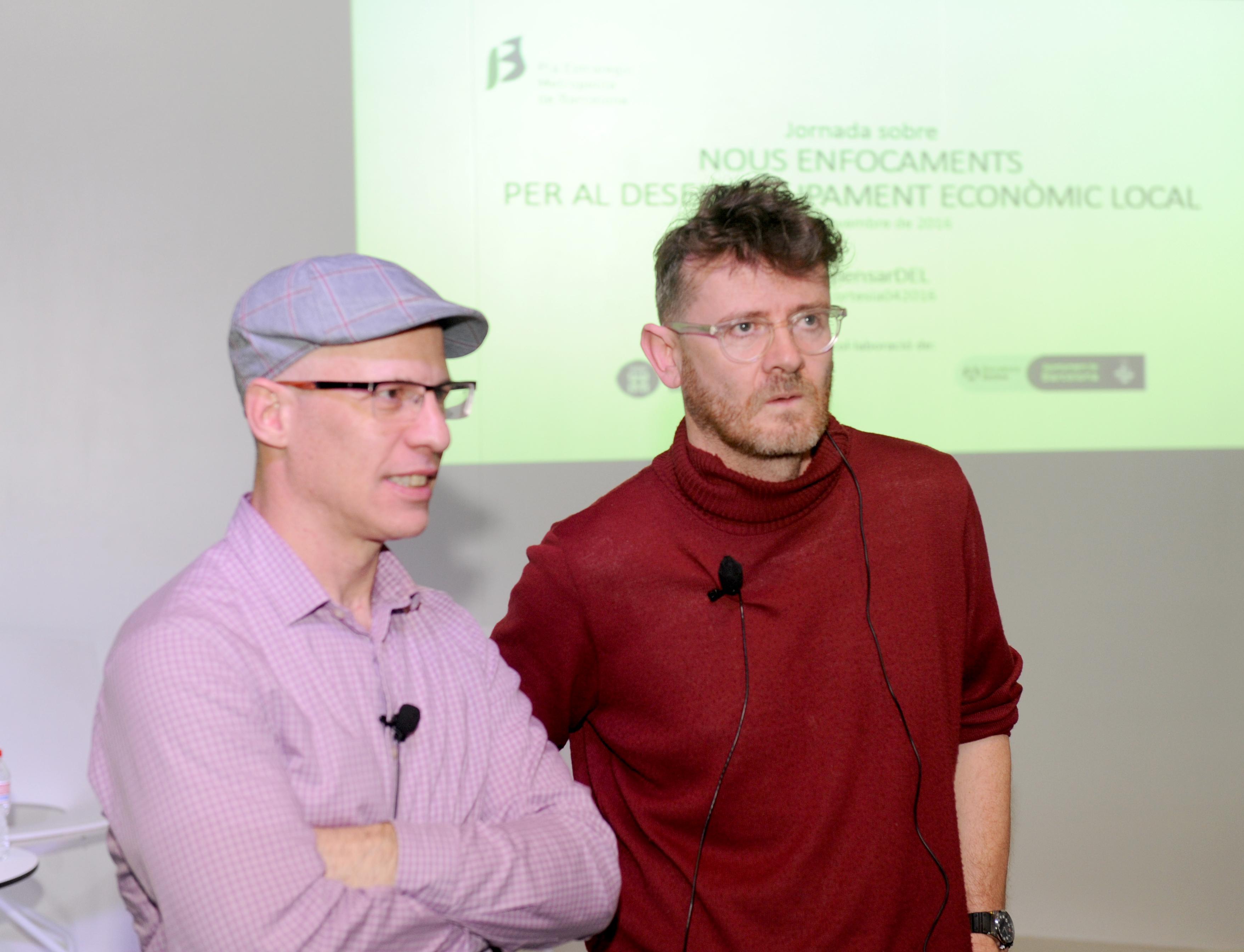 Boyd Cohen y Neil McInroy