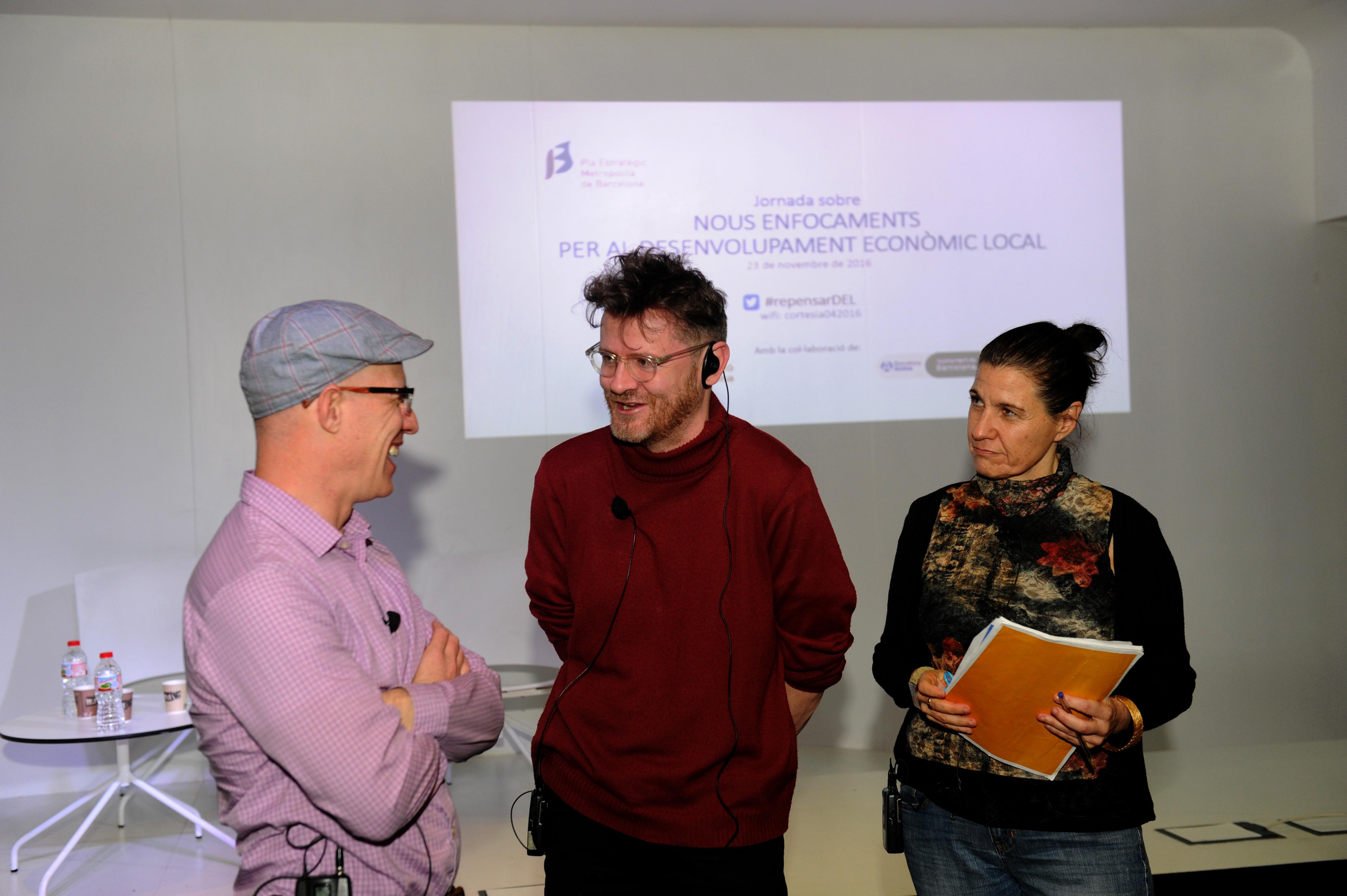 Boyd Cohen, Neil McInroy y Ariadna Trillas