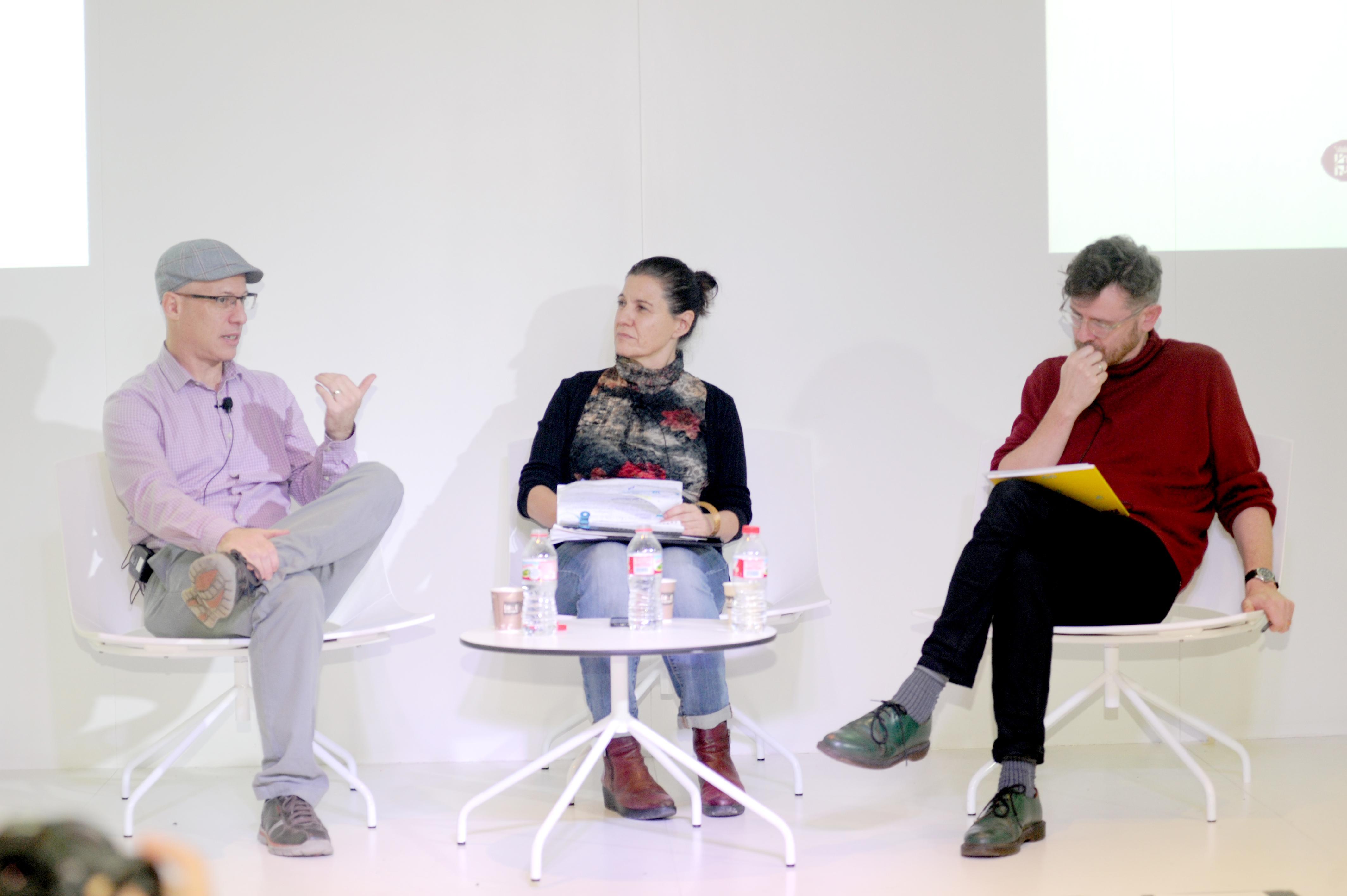 Boyd Cohen, Ariadna Trillas y Neil McInroy