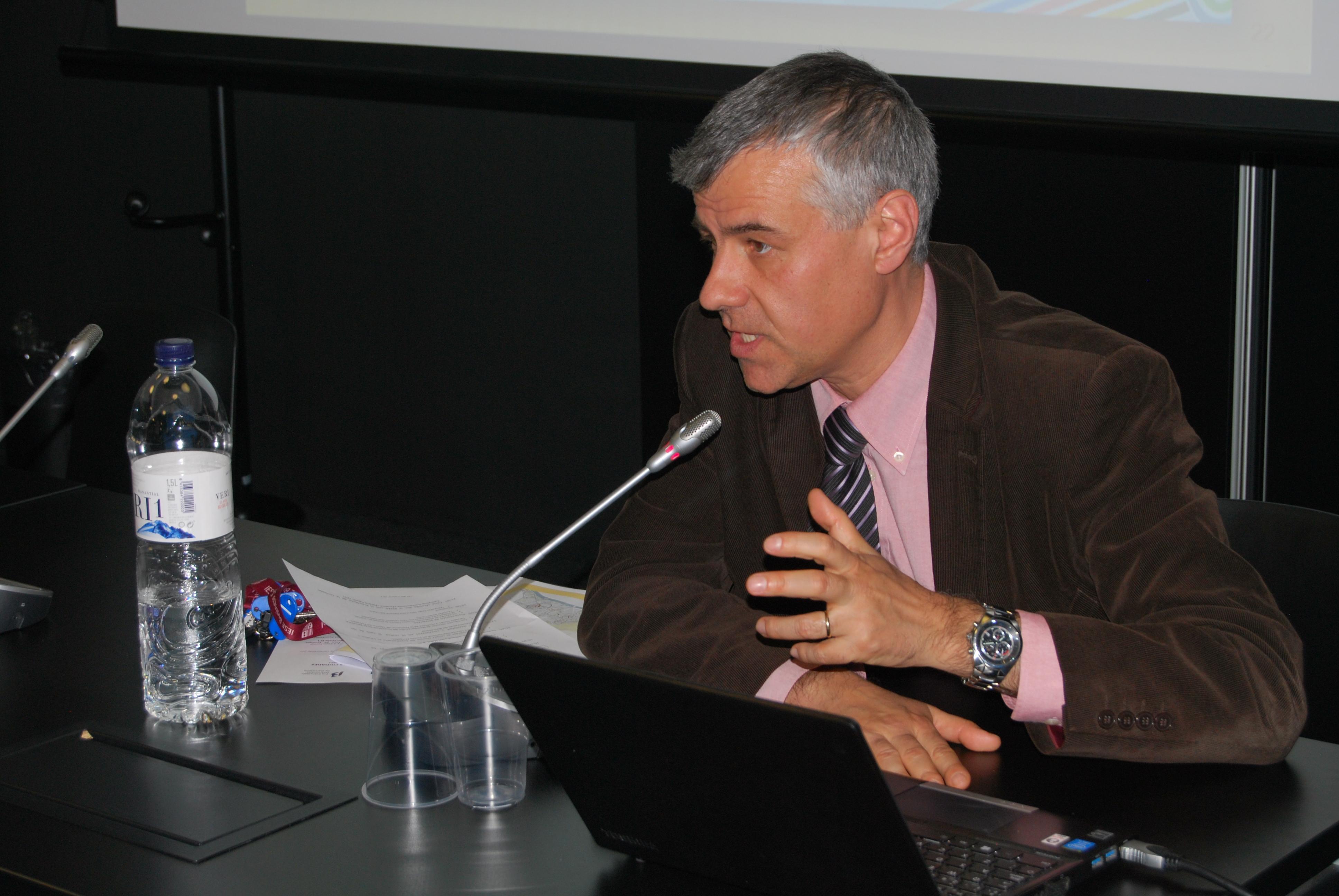 Francesc Xandri, de l'operadora Tusgsal de Santa Coloma de Gramenet