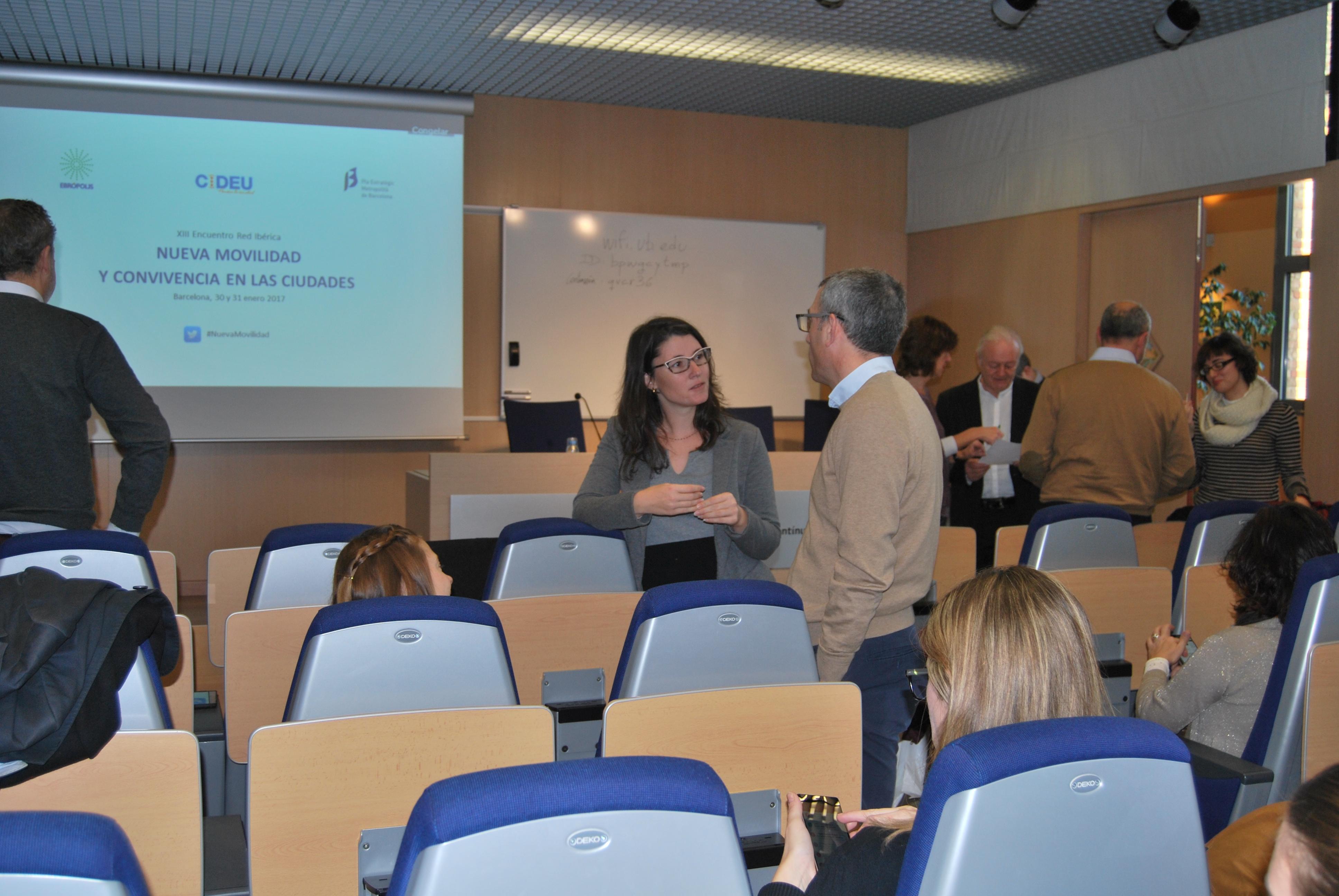 2ª Jornada XIII Reunió de la Xarxa Ibèrica del CIDEU