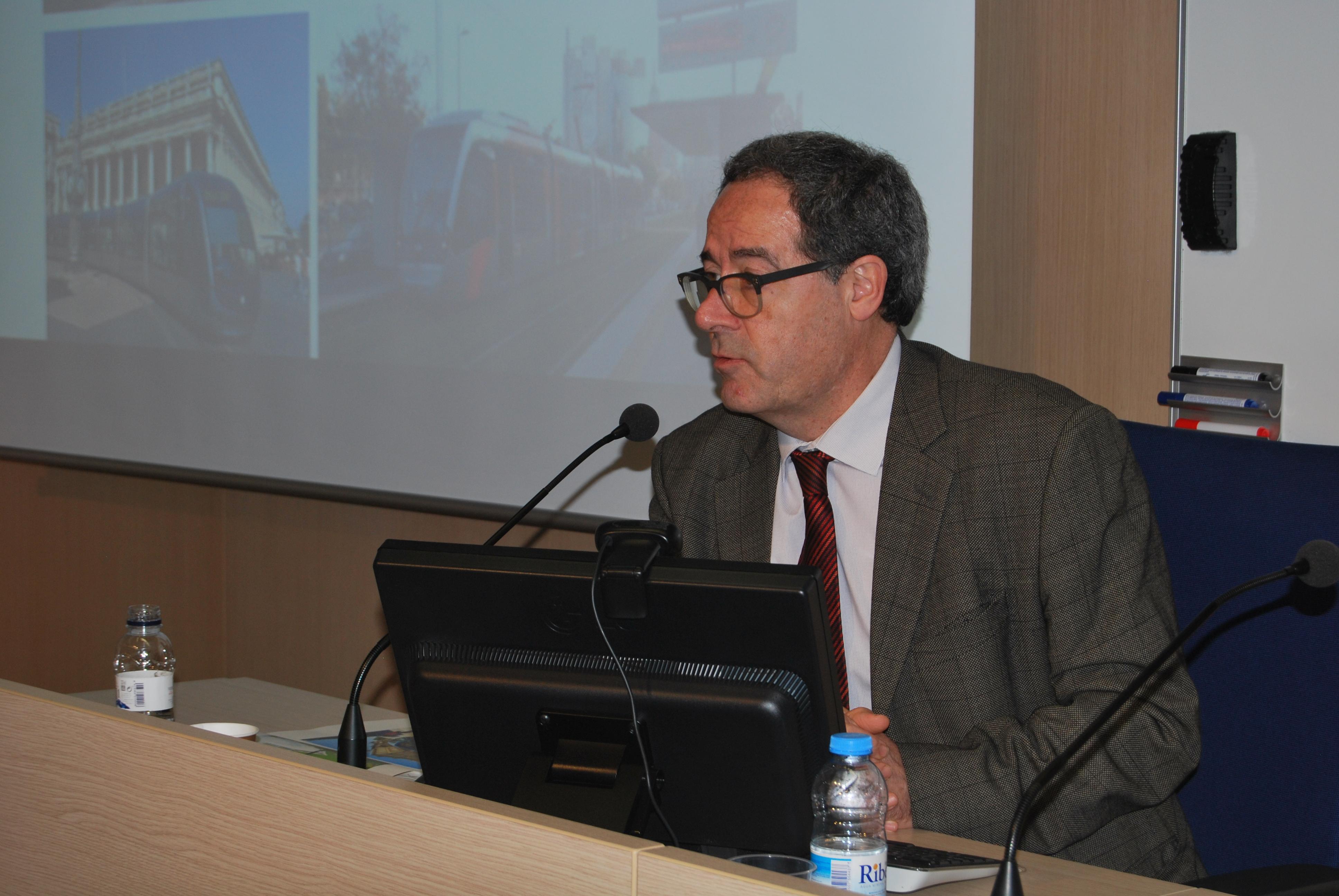 Pere Macias, Director Estratègic del projecte de connexió entre els dos tramvies de Barcelona