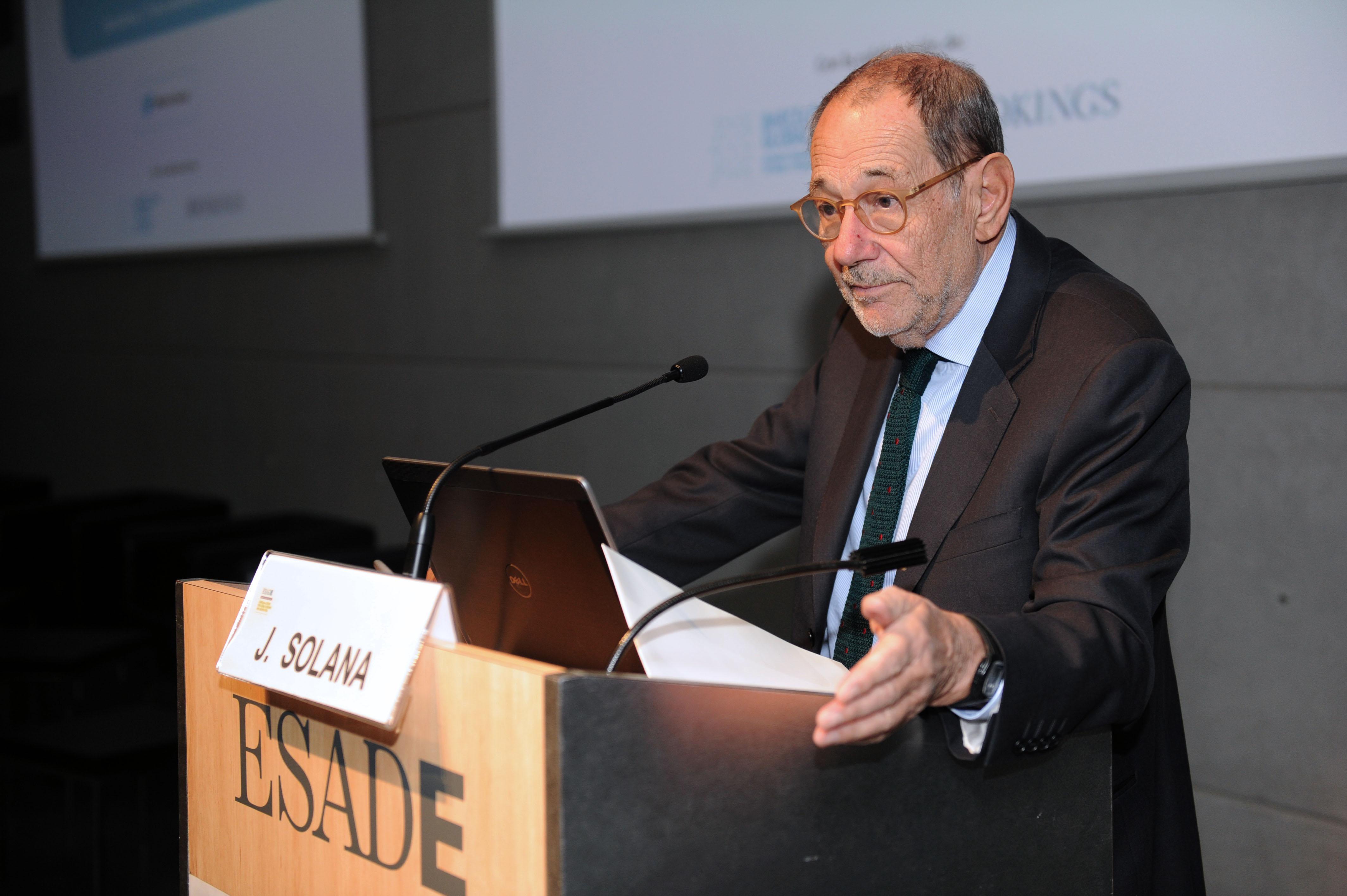 Javier Solana. ESADEgeo