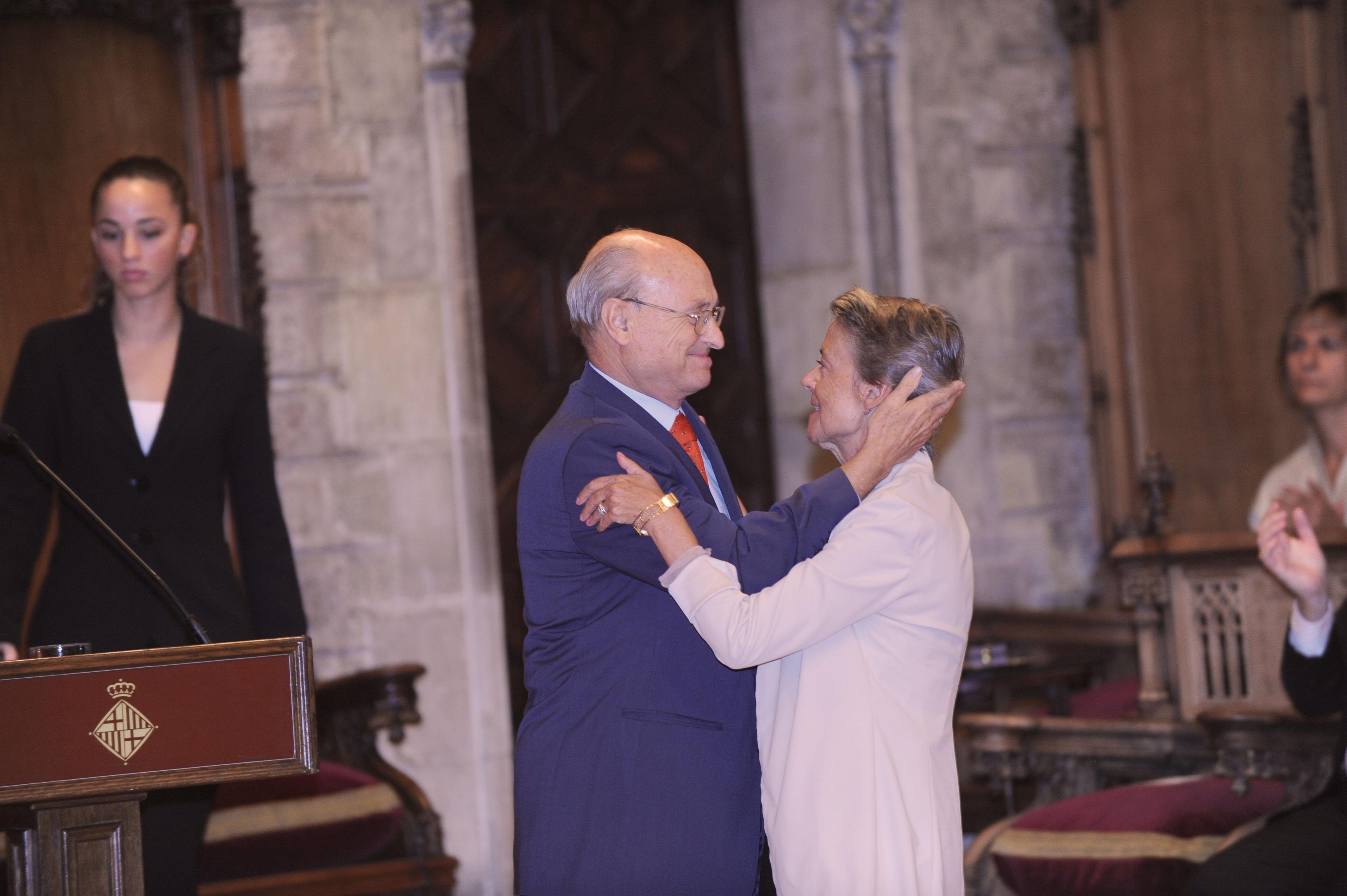 Francesc Raventós y Cristina Ametller
