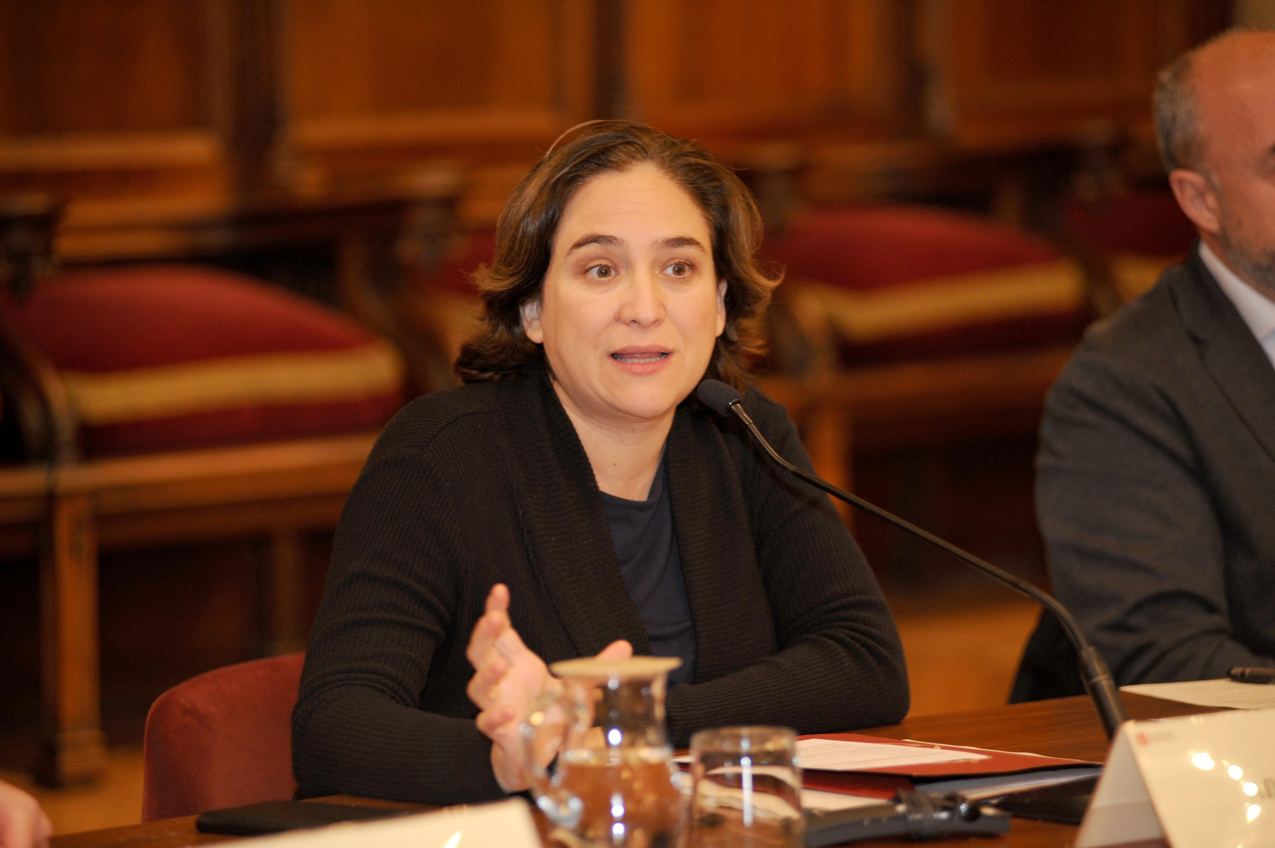 Ada Colau, presidenta del Consell General del PEMB
