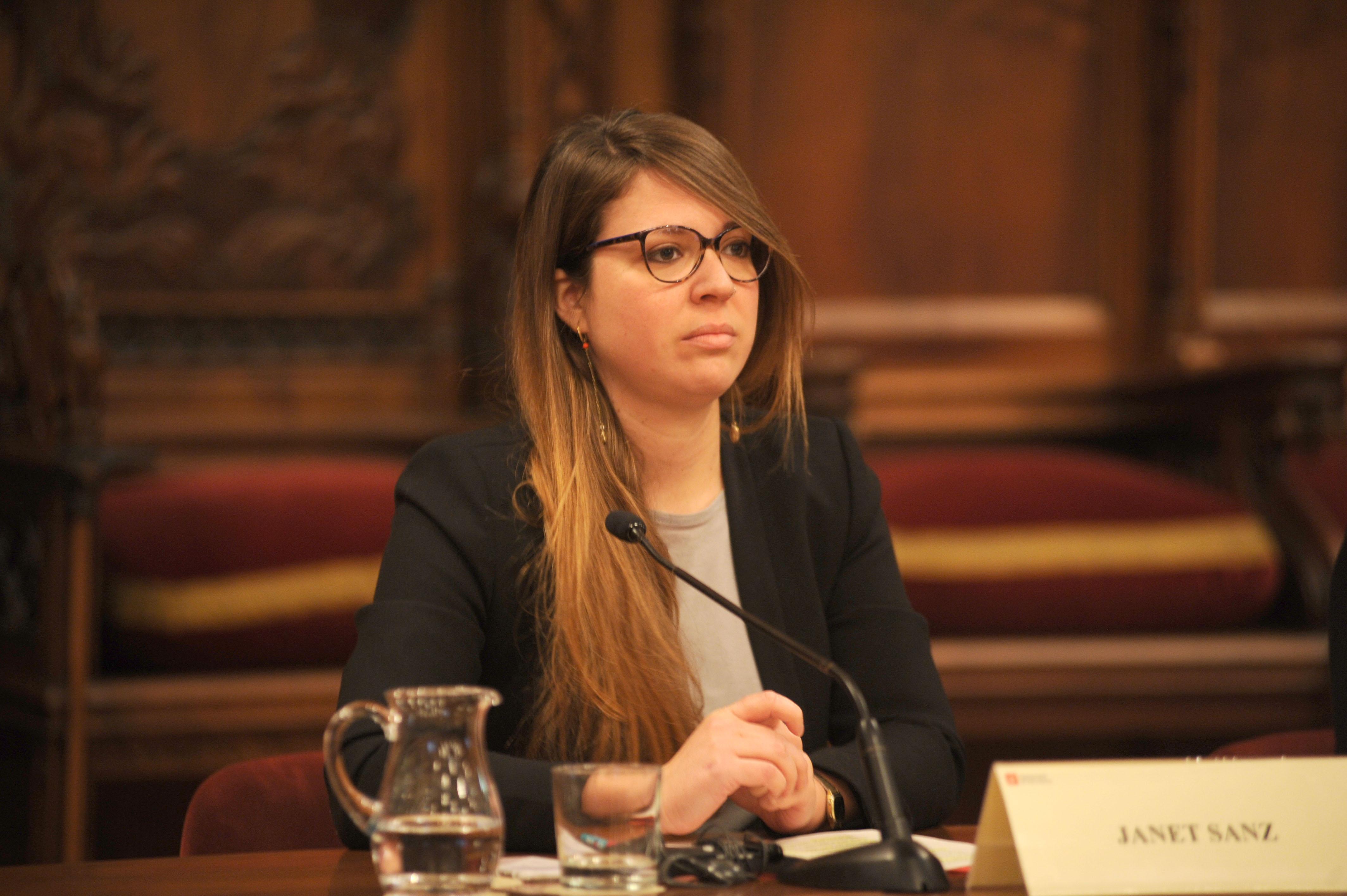 Janet Sanz, presidenta de la Comissió Executiva del PEMB