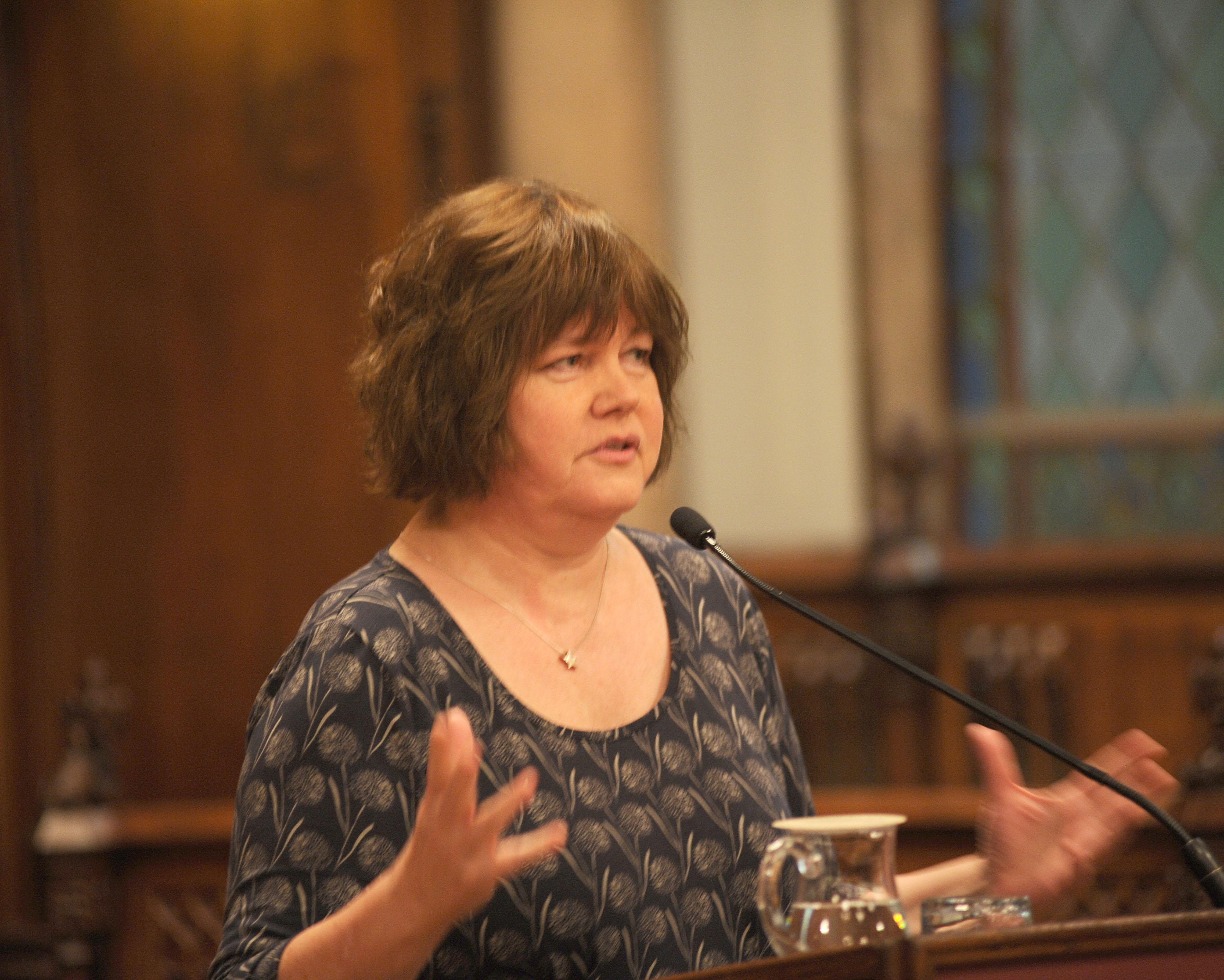 Carolyn Steel, experta en polítiques alimentàries